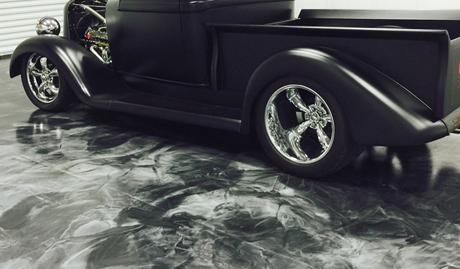 Garage Floor Scene